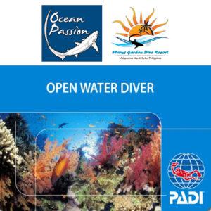 PADI OWD Ocean Passion Malapascua
