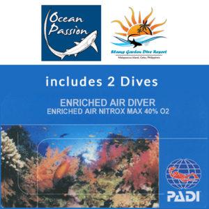 PADI EAN Diver Ocean Passion Malapascua