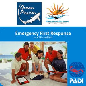 PADI EFR Ocean Passion Malapascua